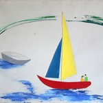Primary Sailboat